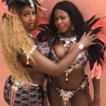 Billionaires Daughters DJ Cuppy and Farida Folawiyo Dazzles In Scant Sexy Outfit At The Trinidad and Tobago Carnival