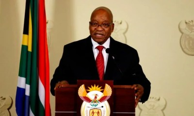 Jacobs Zuma Resign As South-Africa President