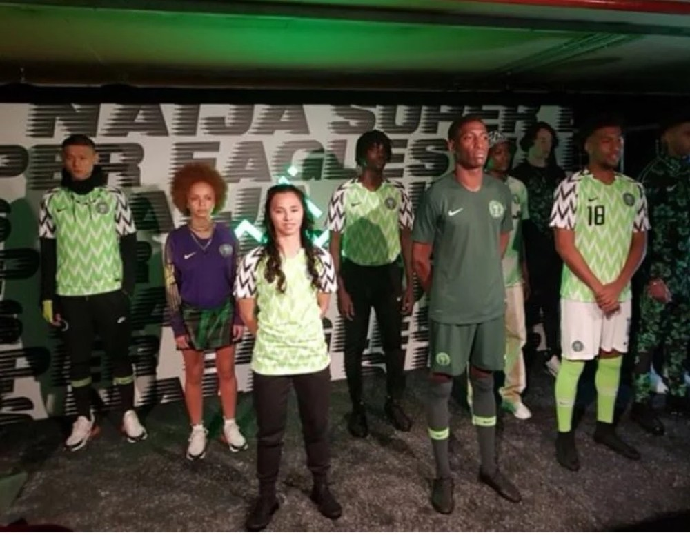 Super Eagles New Jersey 02