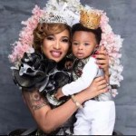 Court Stopped Tonto Dikeh From Showing Her Son King Andre On Reality TV Show