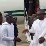 Photo News: President Buhari Arrives Lagos For A 2-Days Visits