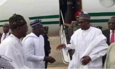 President Buhari Arrives Lagos 00 (1)