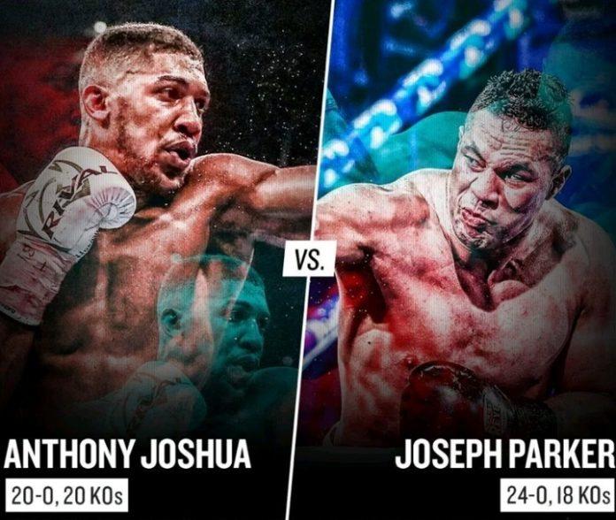 Anthony Joshua vs Joseph Parker