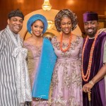 Photos From DJ Caise's Traditional Wedding to Donald Duke's Daughter In Calabar