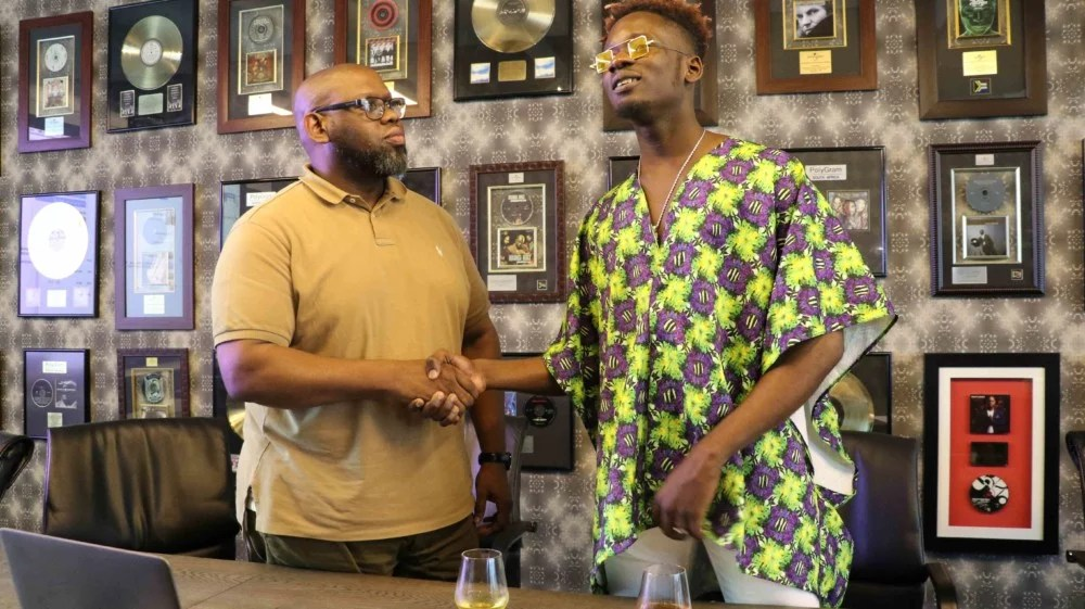 Mr Eazi signs Exclusive Licensing Deal with Universal Africa 01