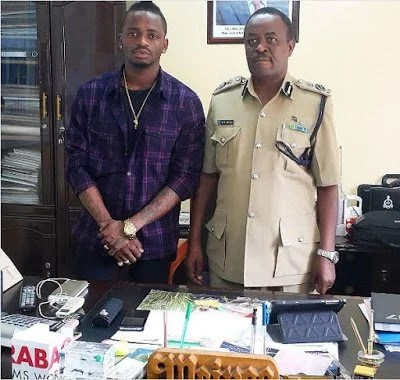 Police Arrest Diamond Platinumz