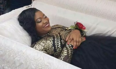WOMAN SNAPS Her Pre Burial Pictures Online - Copy