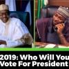 Buhari and Davido
