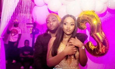 Chioma and Davido