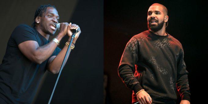 Drake and Pusha T
