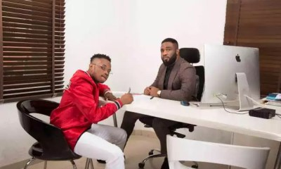 Praiz Signs Ex-Project Fame Contestant Dapo To His Management Company