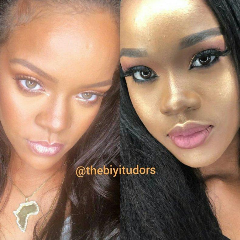 Rihanna and Cee-C 00