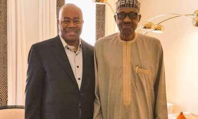 Godswill Akpabio Meets Buhari