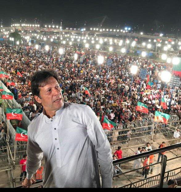 Imran Khan elected Prime Minister of Pakistan