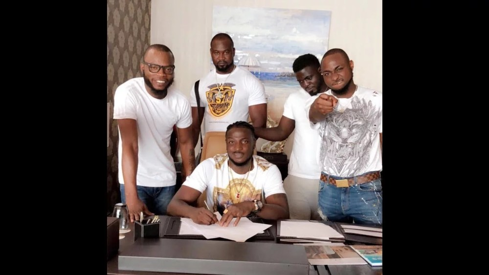 Peruzzi Signed to DMW