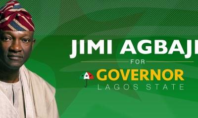 Jimi Agbaje for Lagos State Governor
