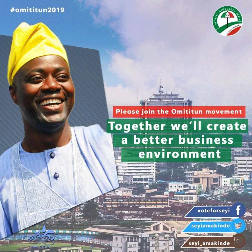Meet PDP Most Likely Canditate for 2019 Election In Oyo State, Engr Seyi Makinde