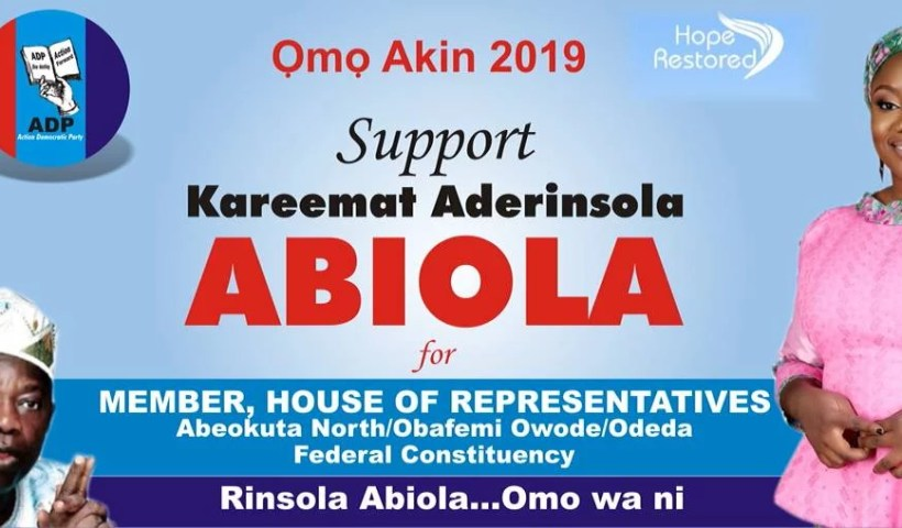 Rinsola Abiola to Federal House In Ogun 00