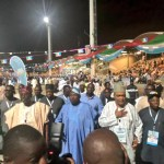 #APCNationalConvention : Ambode and Sanwo-Olu Arrives APC National Convention Together In Abuja