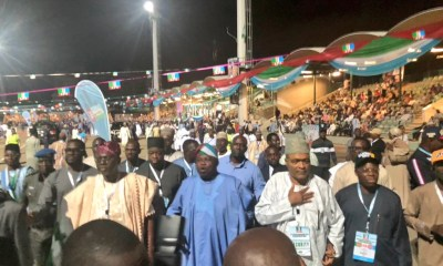 Ambode and Sanwo-Olu Arrives APC National Convention Together 01