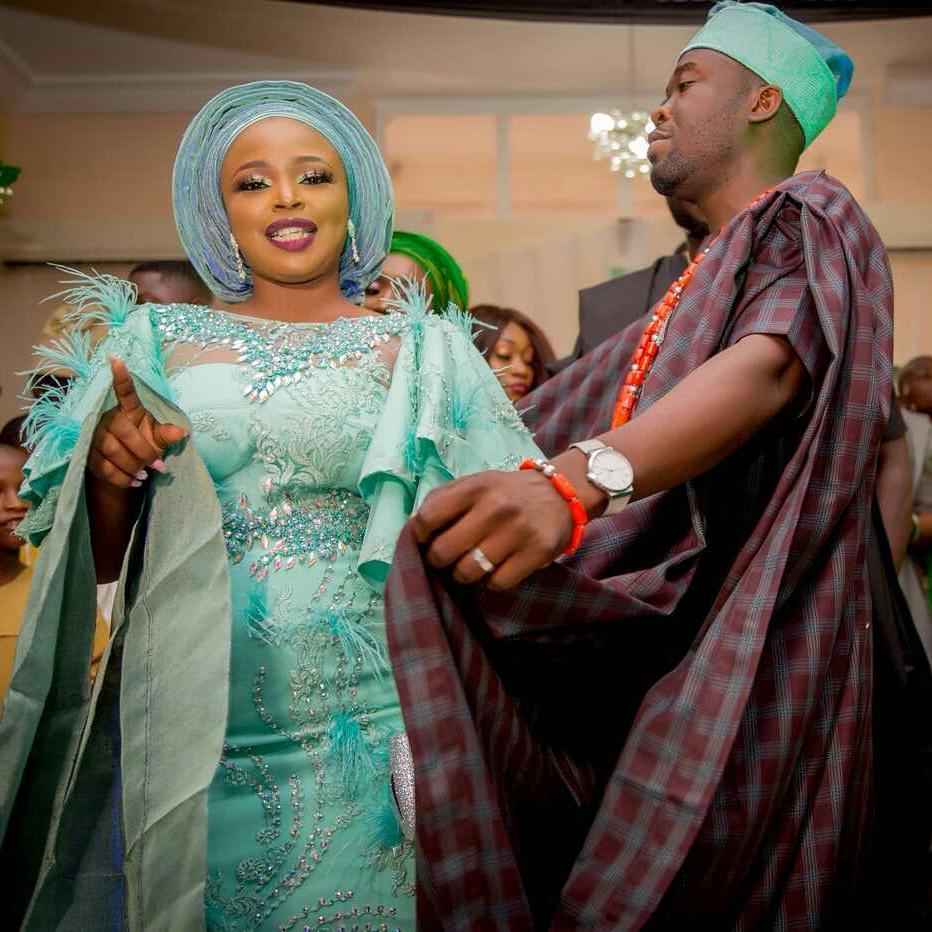 Biola and Gbemi Weds In Ibadan 11
