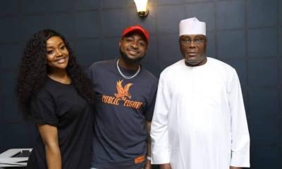 Davido and Chioma Visits Atiku Abubakar