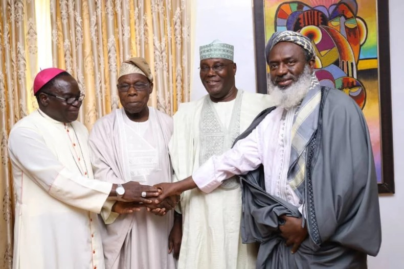Obasanjo Forgives & Declares Support for Atiku As Nigeria President In 2019