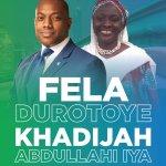 Fela Durotoye Picks Khadijah Abdullahi-Iya As Running-Mate for 2019 Election