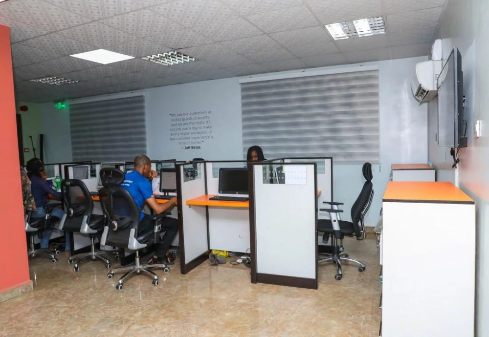 Inside View Of Akin Alabi & Nairabet Multi-Million Naira Mansion Office 10