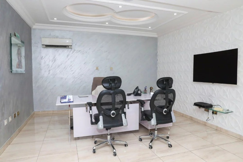 Inside View Of Akin Alabi & Nairabet Multi-Million Naira Mansion Office 18