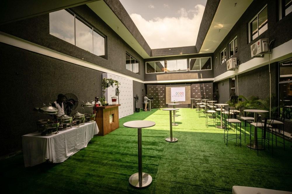 Inside View of Dare Art Alade Deola Art Alade Livespot Multi Million Dollar Office In Lagos 17