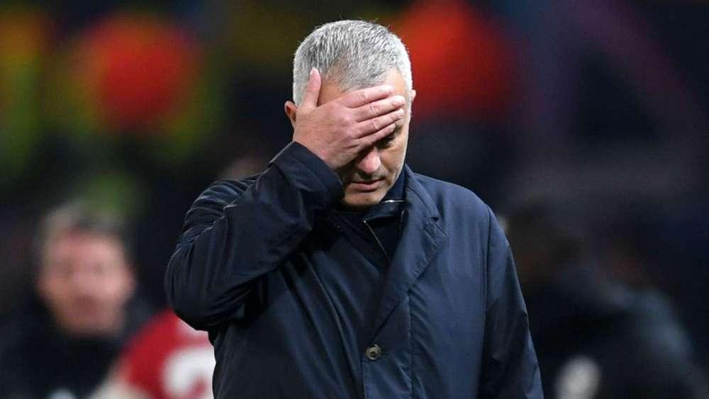 Manchester United Sacked Jose Mourinho