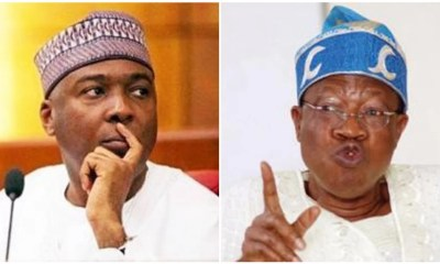 Lai Mohammed and Bukola Saraki