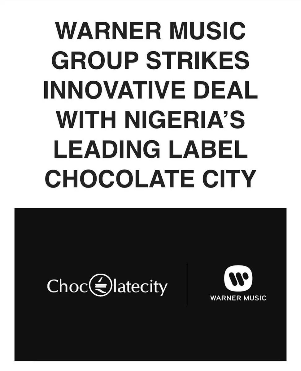 Chocolate City Signs Partnership Deal Warner Music Group 00