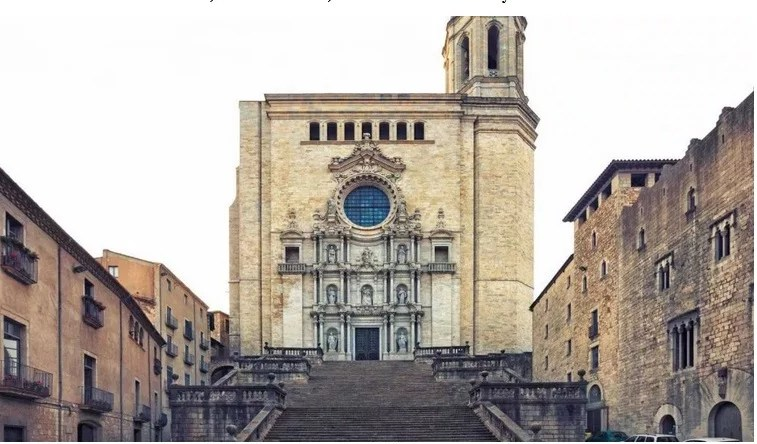 Girona Cathedral -- Game Of Thrones