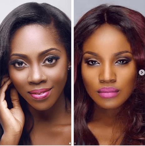 Tiwa Savage And Seyi Shay Fight Dirty At Lagos Spa