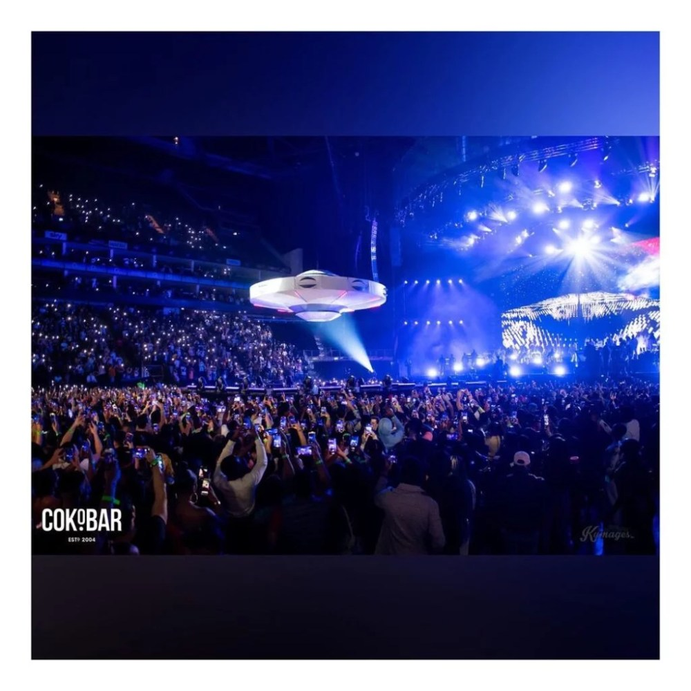 Burna Boy 02 Arena concert