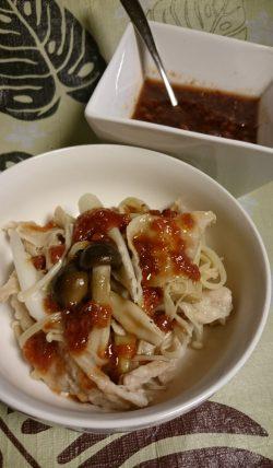 蒸し野菜&簡単!梅肉ダレ