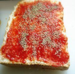 トマトケチャップ・ブラックペッパー