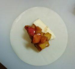 リンゴ・カマンベールチーズ
