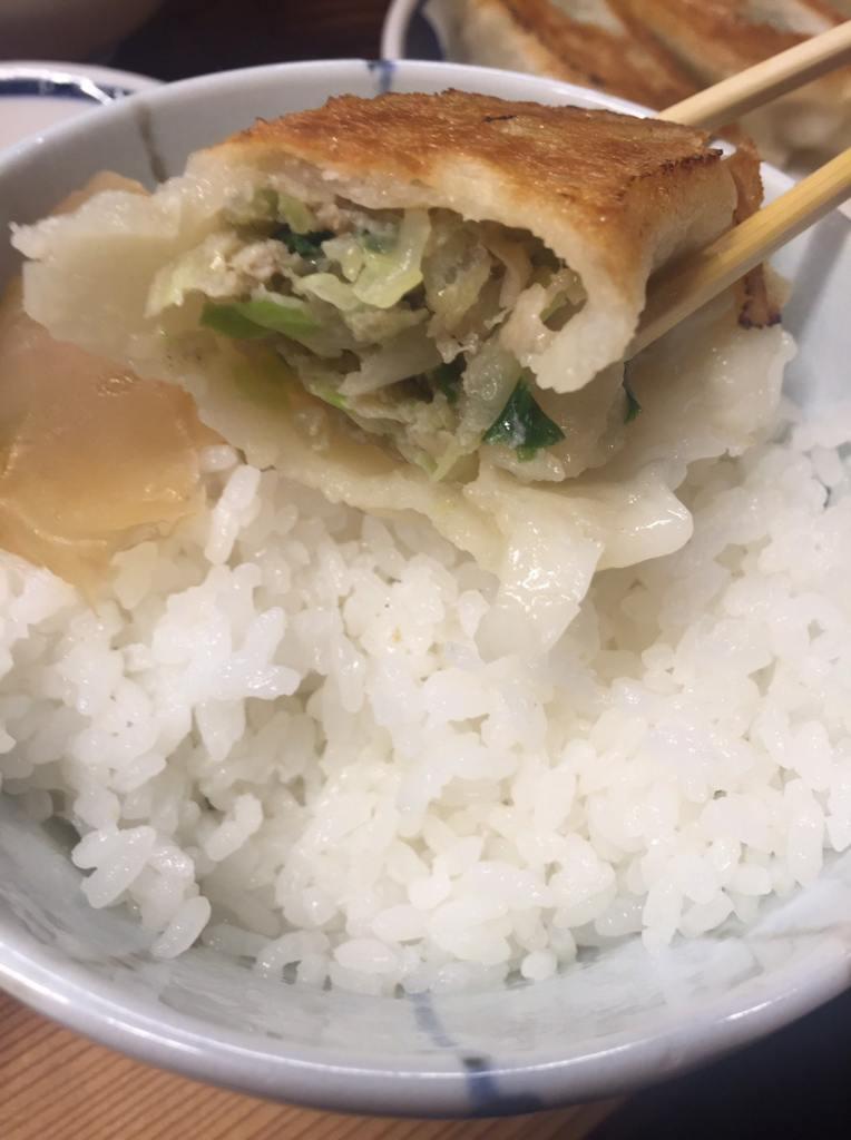 一圓 吉祥寺本店 餃子ライス8