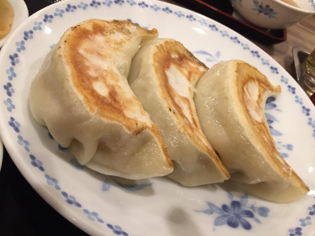 池袋「開楽」 餃子定食2