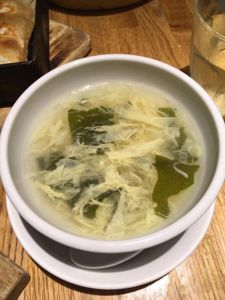 馬馬虎虎ルミネエスト新宿店 たまごスープ