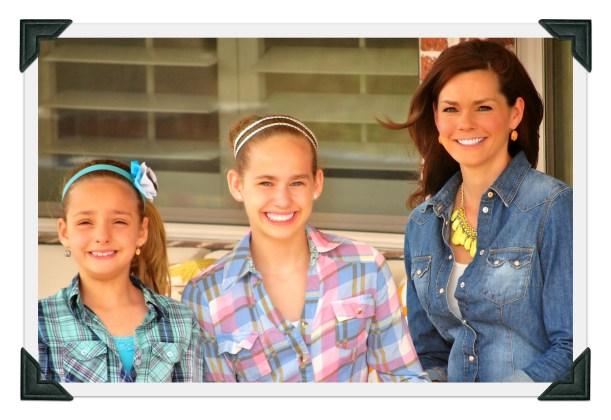 Alison, Aubrey and Ava