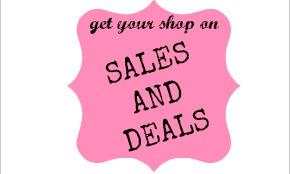 sales and deals