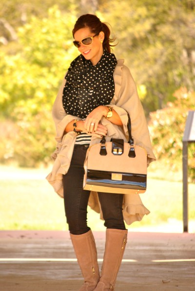 Black and Beige Outfit Full 2