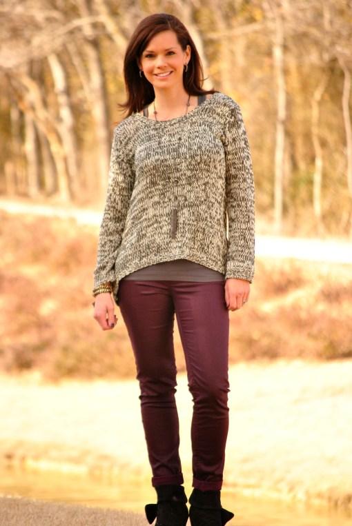 Alison Black Sweater Full