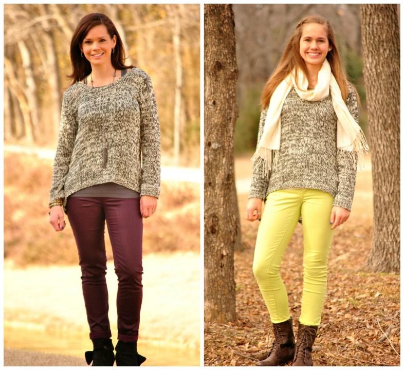 Black Sweater Full Collage