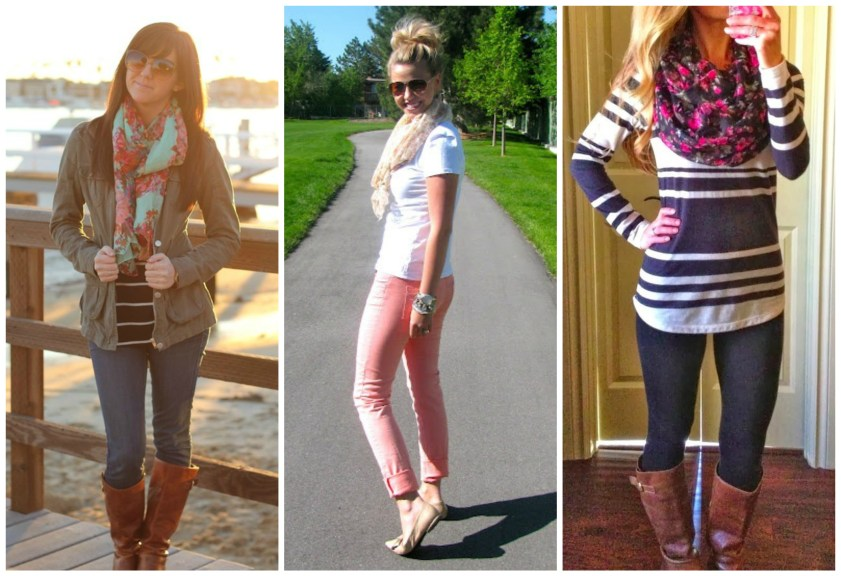 scarf-outfits-spring-pinterest