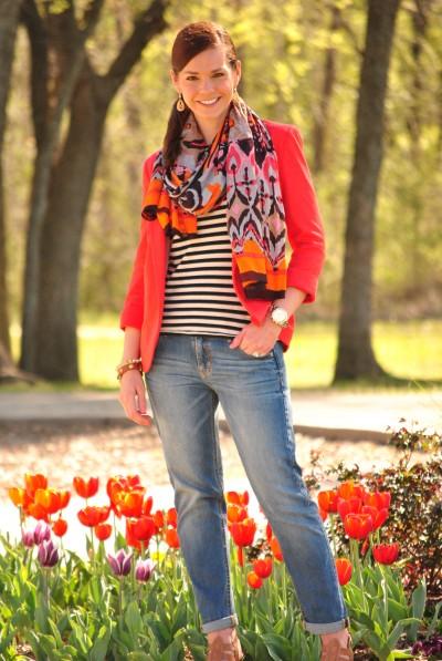 Wallis Orange Blazer